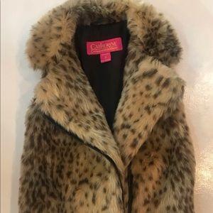 Catherine Malandrino Faux Fur Vest, 4